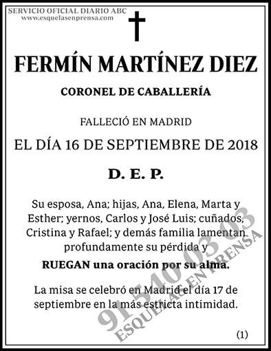 Fermín Martínez Diez